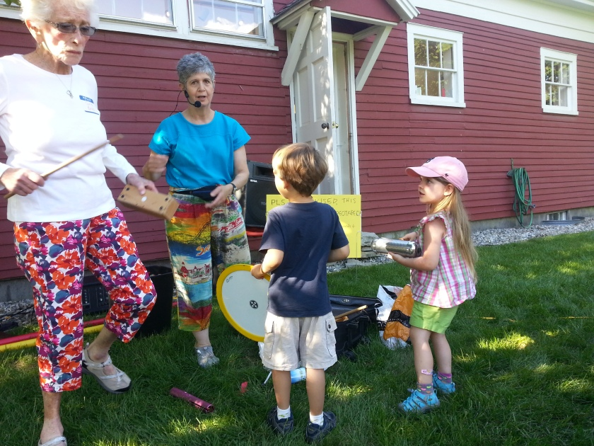 Drumming with SaraGail!