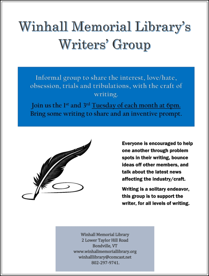 Writers group-edited