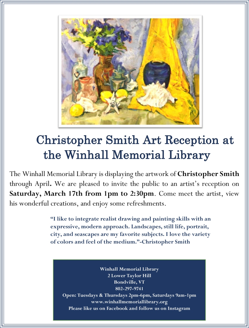 Christopher Smith Flyer